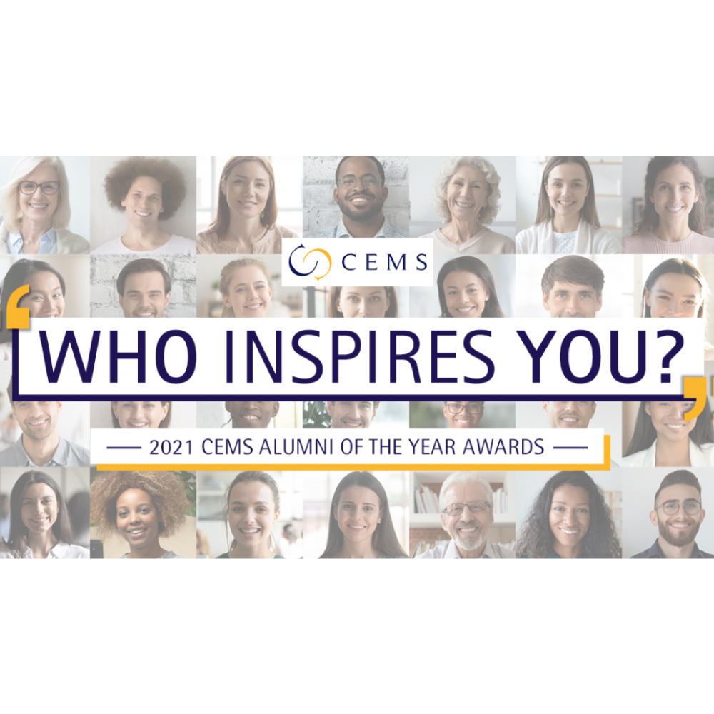 2021 CEMS Alumni of the Year Awards: Voting now open!