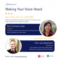 CWS_Making Your Voice Heard flyer5