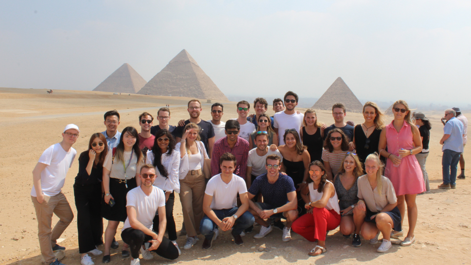 CEMS Student Board Meeting at AUC in Cairo Picture