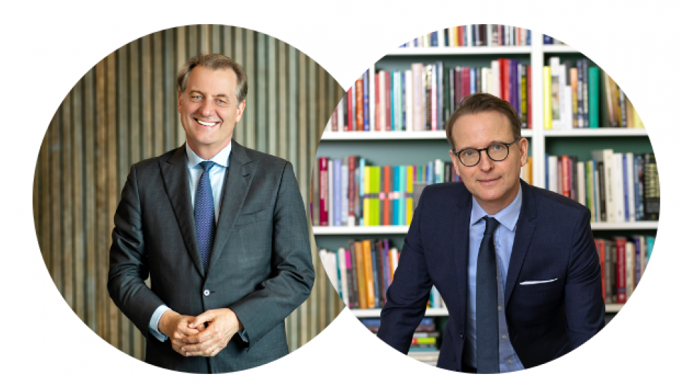 Professors Gregory Whitwell, Dean of the University of Sydney Business School and Lars Strannegård, President of the Stockholm School of Economics have been re-elected as CEMS Chair and Co-Chair respectively (Lars Strannegård photographer Juliana Wiklund)