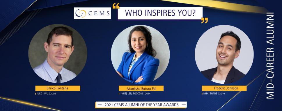 2021 CEMS AoY Awards - Mid-Career Ballot